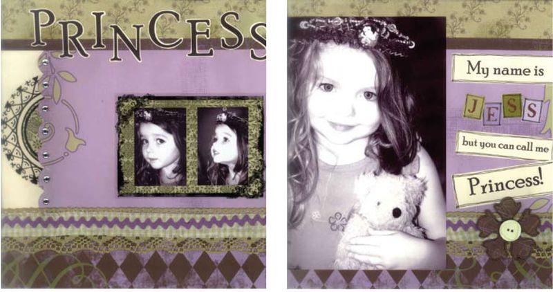 Princess layout