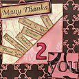Many Thanks - Card