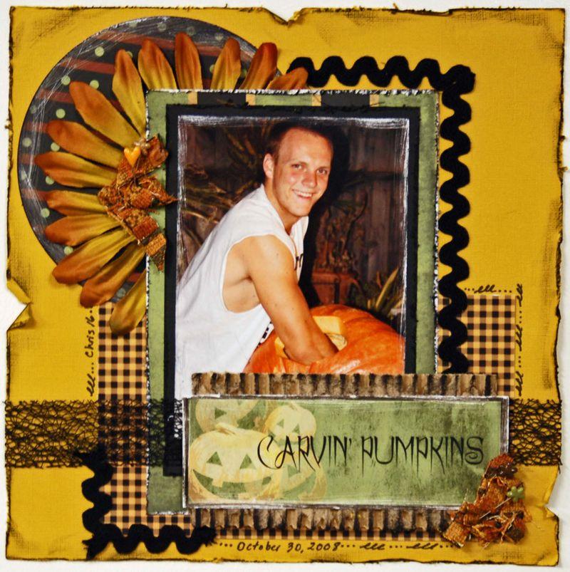 RP - Carving Pumpkins