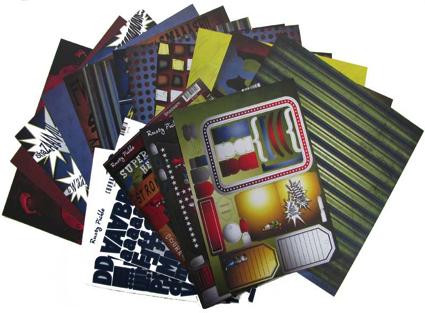 Shazam paper packs